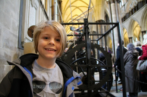 Eli and the Medieval Clock