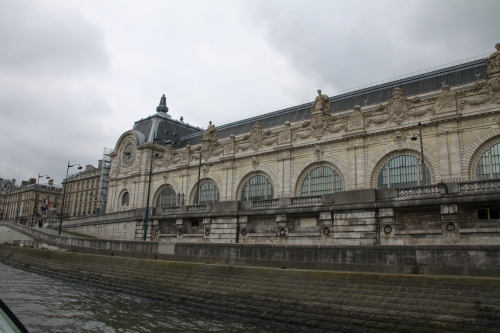 The Musée d'Orsay from The Seine.