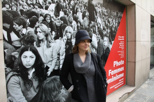 Lana At The Feminist Photo Exhibit