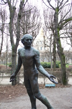 "At the Musée Rodin. ""He said NO."""